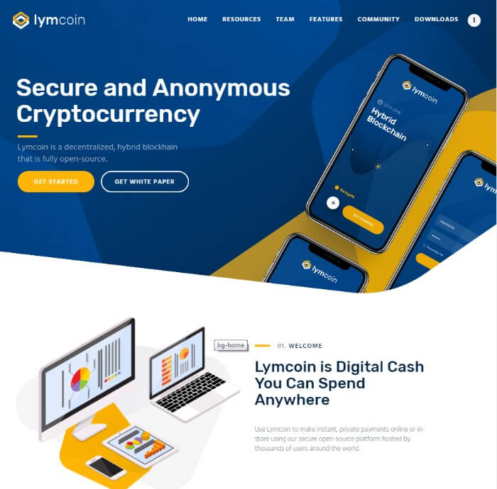 lymcoin WordPress theme