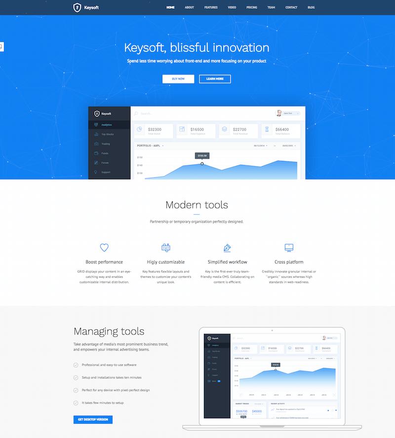 KeySoft WordPress Theme