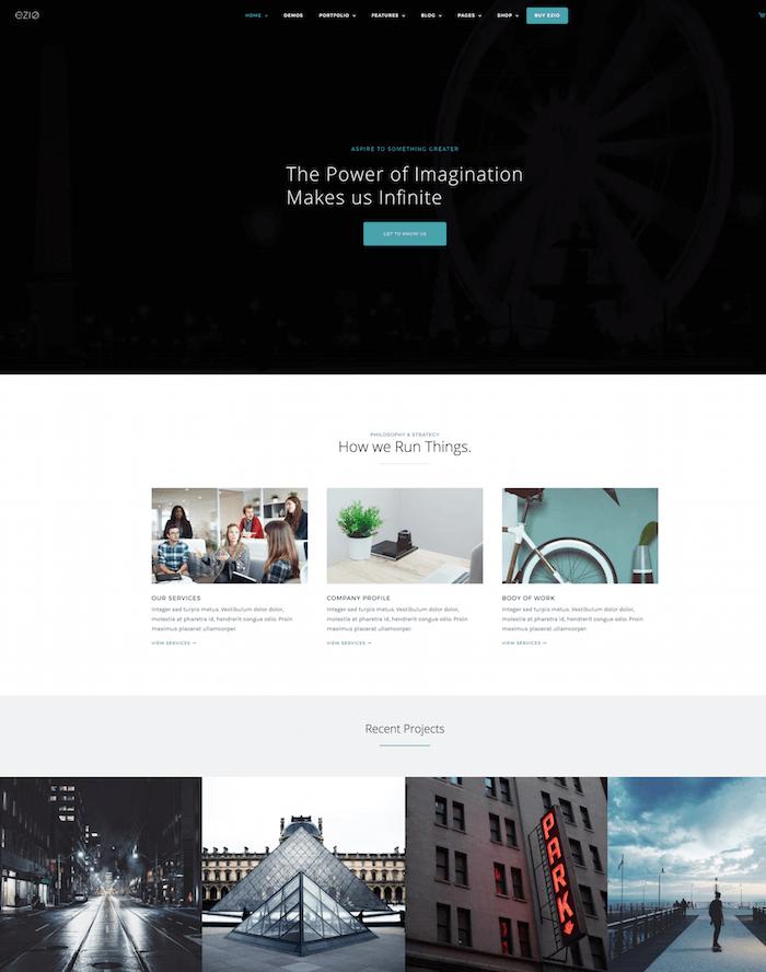 ezio-wordpress-theme