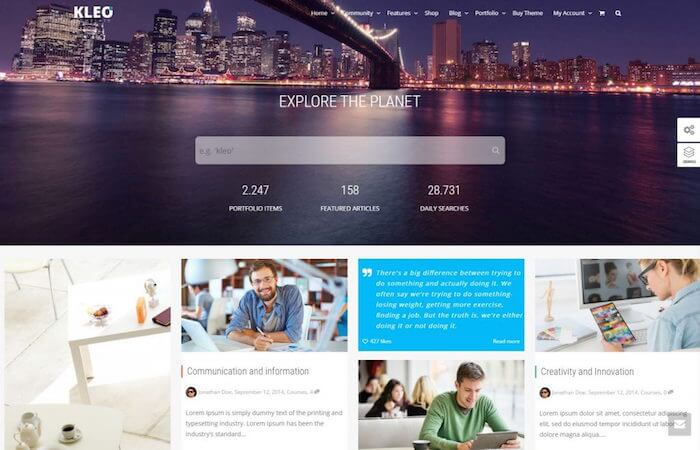 kleo-pro-multi-purpose-buddypress-theme-preview-themeforest-compressed