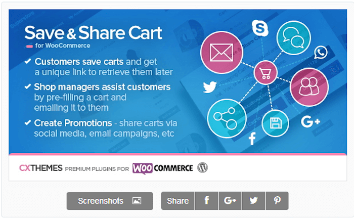 Save-Share-Cart-for-WooCommerce