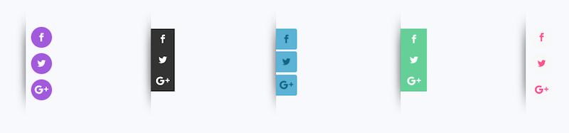 Share icon color
