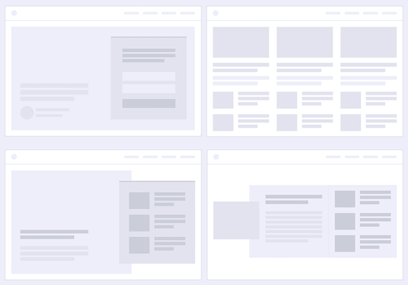 Homepage Post Layouts