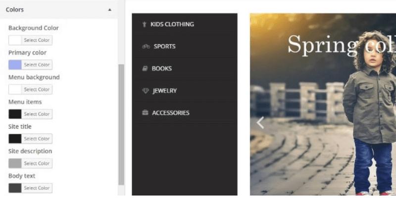 TheShop - Color Options